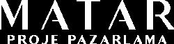 Matar - Proje Pazarlama - Logo - Beyaz
